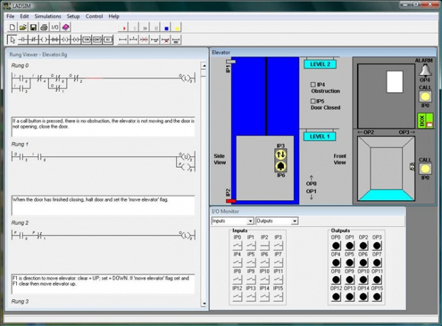 Downloads ladsim is a fully functional ladder logic design and plc simulation software program that incorporates the functions used in plc ladder programming ccuart Images