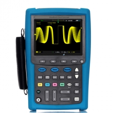 Handheld touch screen oscilloscope